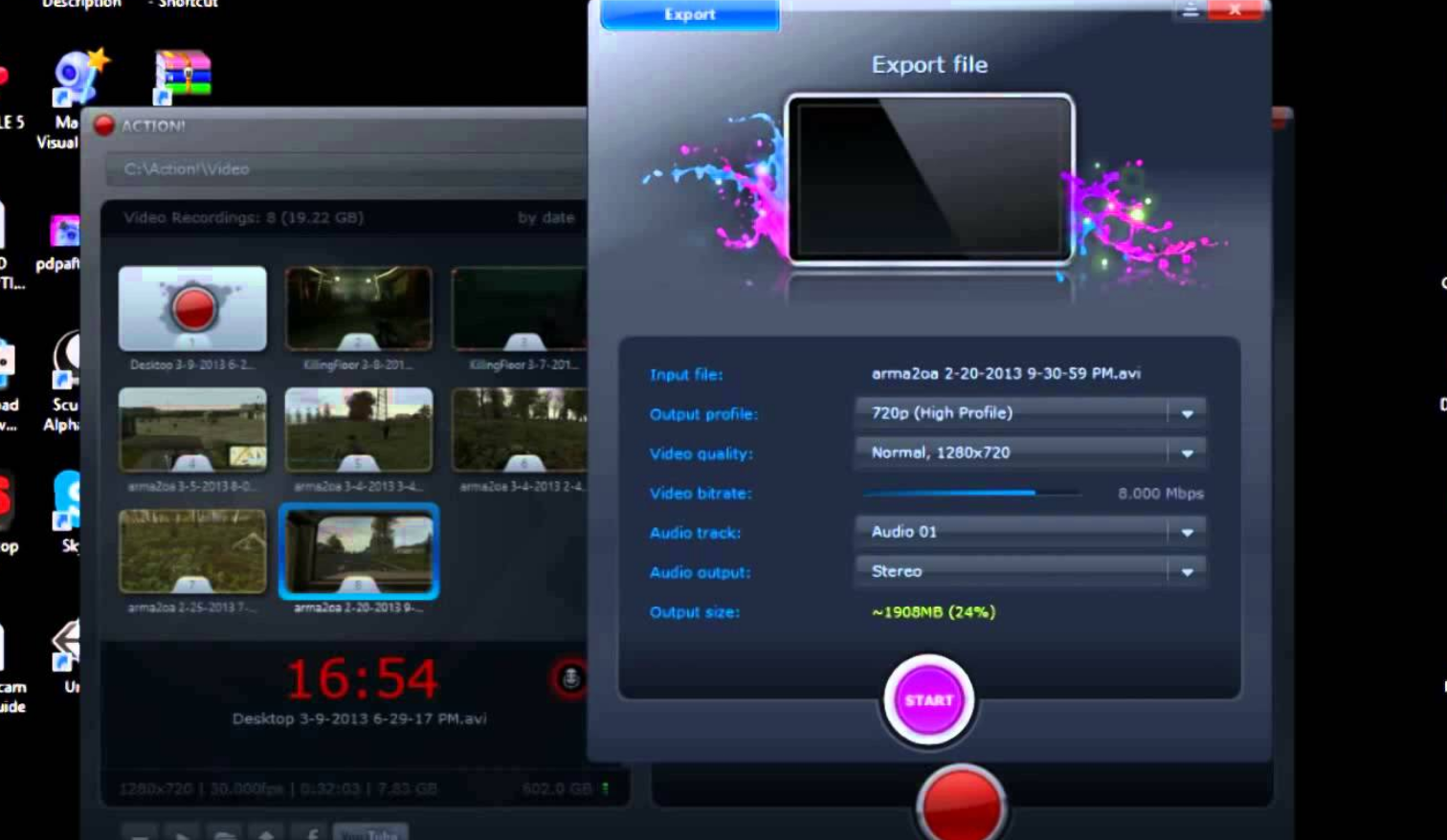 best game screen recorder